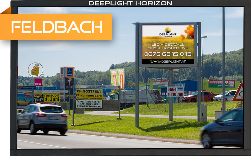 LED-Videowall Feldbach