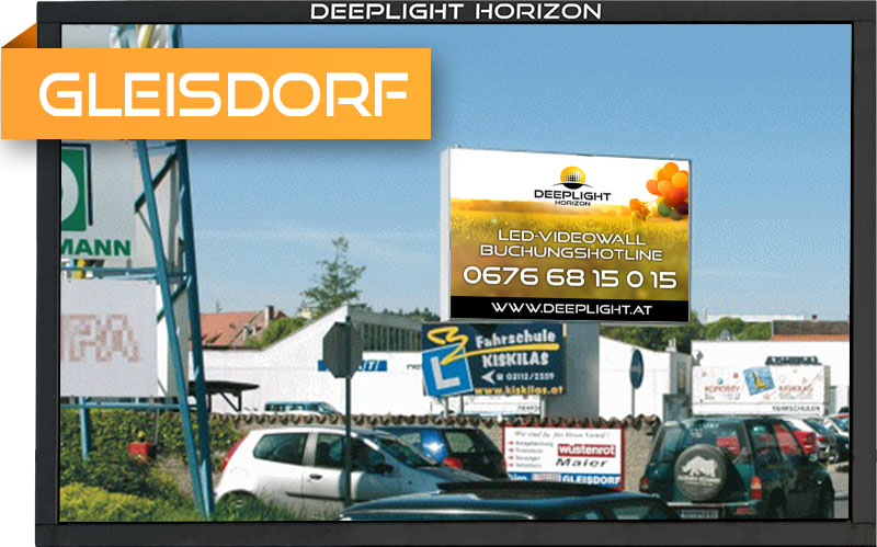 LED-Videowall Gleisdorf